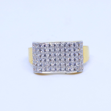 916 / 22KT gold CZ Dailyware ring for Men GRG00047