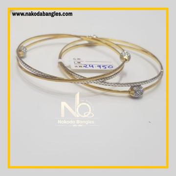916 Gold CNC Bangles NB - 629