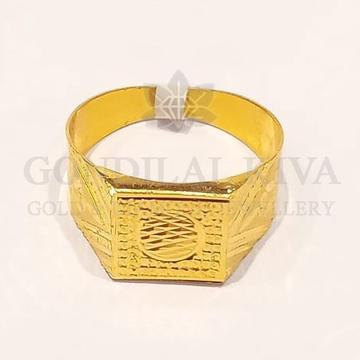 22kt gold ring ggr-h69