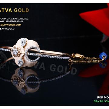 76 ROSE GOLD KADA SGK-0010