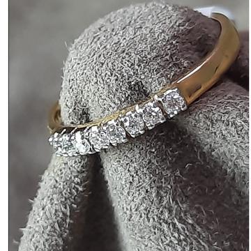 916 gold Delicate Ring Design For women sHD-6365 by Shri Datta Jewel