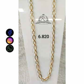 22 Carat Gold Gents Chain RH-CH.772