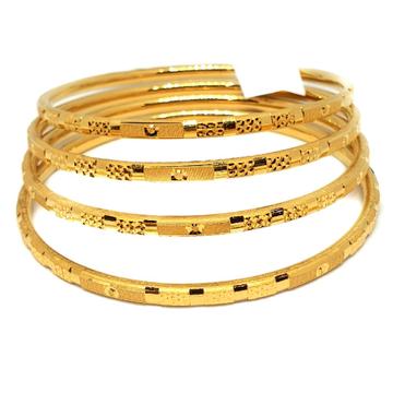 One gram gold forming bangles mga - gf0037