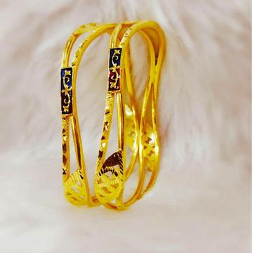 Gold Bangle Atreactive Dijain by
