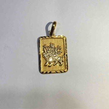 750  plain gold god pendant for daily wear