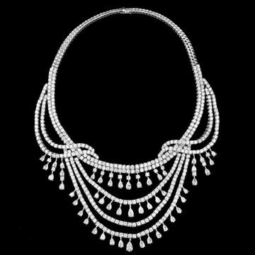 Diamonds NecklaceJSJ0195