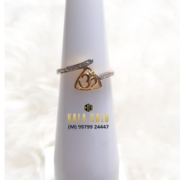 916 Fancy Om Ladies Ring