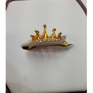 916 Gold Fancy Crown Ring For Women MJ-R017
