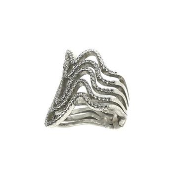 925 Sterling Silver Designer Ring MGA - LRS0069