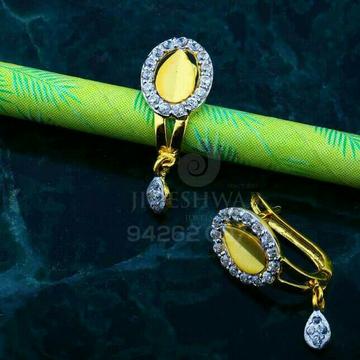 Gold Cz Fancy Bali Abg - 0067