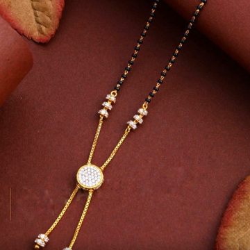 22KT/ 916 Gold fancy hanging festival mangalsutra... by