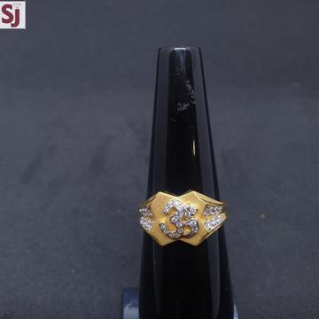 Om gents Ring Diamond GRG-0399