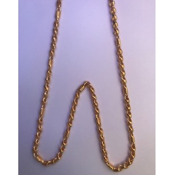 22Kt Gold Designer Chain For Men DC-C010