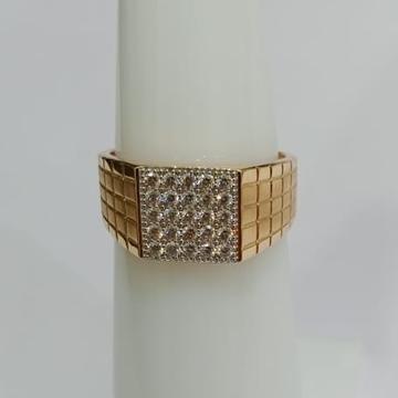 916 Gold Wedding Design Hallmark Ring  by