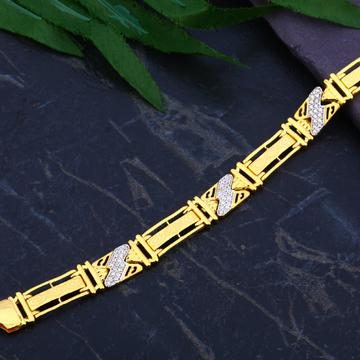 22ct Gold Fancy Designer Bracelet MCB82