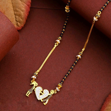 22KT/ 916 Gold fancy Couple Pendant mangalsutra fo... by