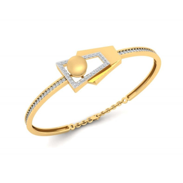 916 gold cz delicate bracelet for women pj-b003