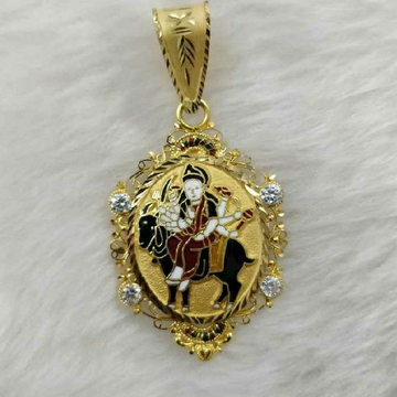 916 Gold Meladi Maa Designer Pendant
