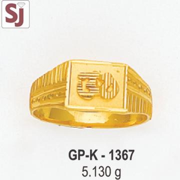 Om Gents Ring Plain GP-K-1367