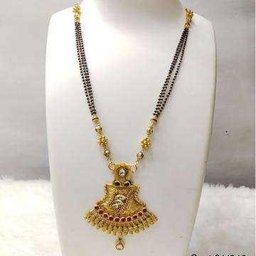 22 carat gold classical ladies mangalsutra Rh-mn839