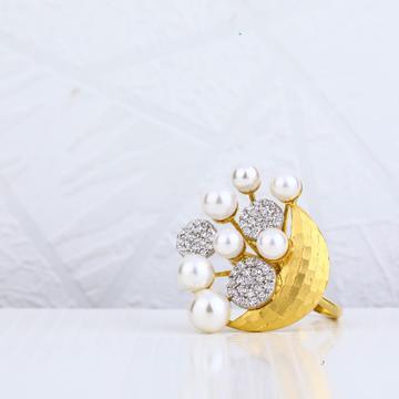 916 Gold Italian Ring LIR13
