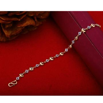 18Kt Rose Gold Classic Bracelet Resign For women RHJ-1211