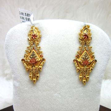 Gold Fancy Earring