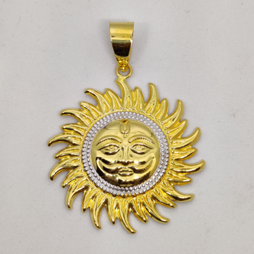 916 gold fancy gent's Surrya Pandal