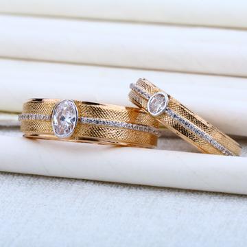 Rose Gold 18K Engagement Gold Couple RING-RCR02