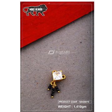 22 Carat 916 Gold Ladies singal stone msp smg0015