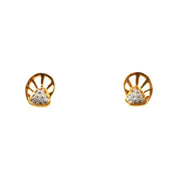 22K Gold Designer Earrings MGA - BTG0371