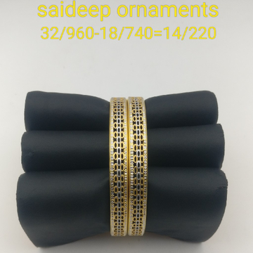916 22 kt copper Bangle Kadli design