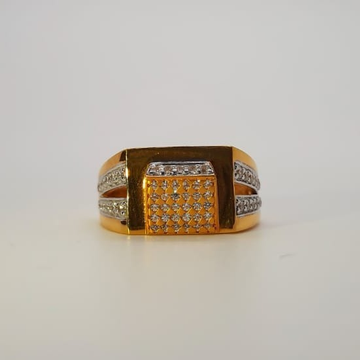 22 CT GOLD GENTS RING CLASSIC DESIGN