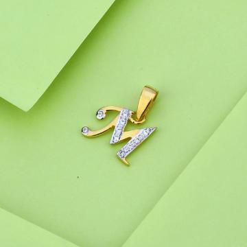 916 Gold Classic Letter Pendant LP31