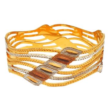 1 gram gold forming designer bangles mga - bge0426
