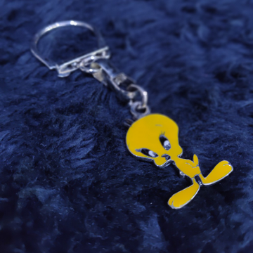 Silver Twetty Cartoon Keychain SKY-002