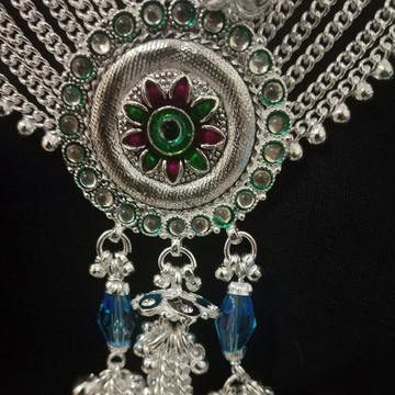 Designer Silver Juda Kandora by