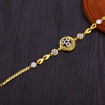 22CT Gold Fancy Ladies Bracelet LB299