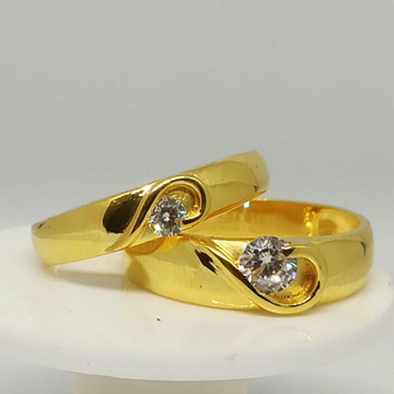 22 kt gold ring couple by
