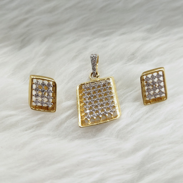 PENDANT SET by Ghunghru Jewellers