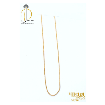22KT / 916 Gold delicate Casual ware chain for Ladies CHG0370