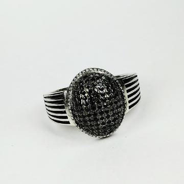 92.5 sterling silver enamel ring ml-129