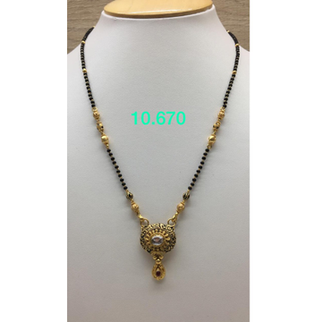 916 Gold Antique Mangalsutra IO-M15