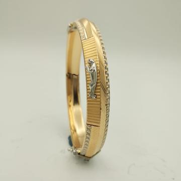 22Kt Yellow Gold Devarth Jaguar Kada For Him