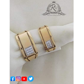 22 carat gold traditional couple rings RH-CR410