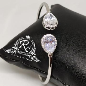92.5 silver single hand ladies kada Rh-Lb931