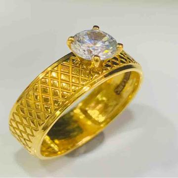 22kt 916 exclusive engagement ladies ring by Prakash Jewellers