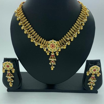 bridal Artificial necklace  set  by