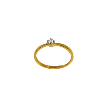 22K Gold Solitaire Diamond Ring MGA - LRG1169