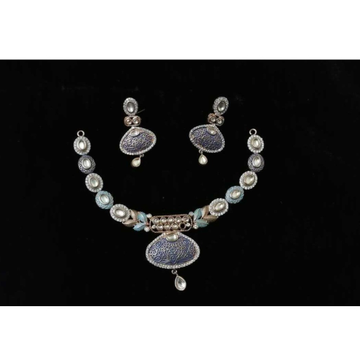 92.5 Sterling Silver Necklace Set